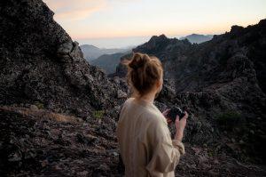 Roque Nublo - Abseits der Touristenpfade auf Gran Canaria mit der SIGMA fp-L © Johannes Hulsch