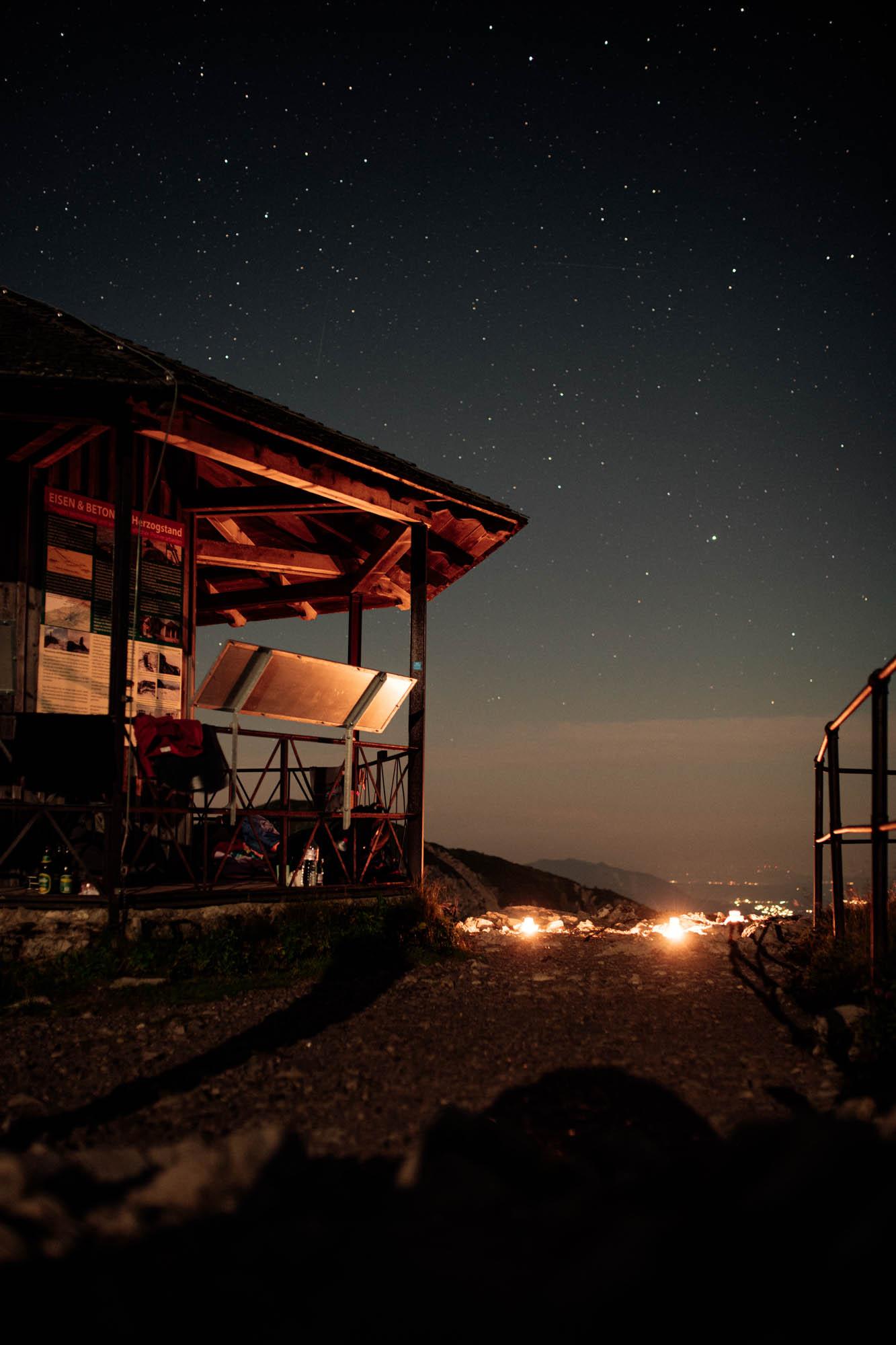 Übernachtung auf dem Herzogstand © Fabian Stoffers